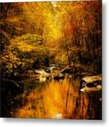 Tennessee Mountains Autumn Metal Print