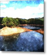 Tennessee Reservoir Metal Print