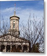 Tennessee State Capitol Building Metal Print