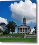 Tennessee State Capitol Nashville Metal Print by Susanne Van Hulst