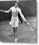 Tennis Star Katherine Stammers Metal Print