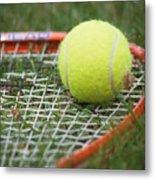 Tennis Metal Print by Valerie Morrison