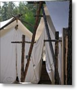 Tent Living Montana Metal Print