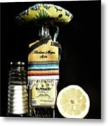 Tequila De Mexico Metal Print