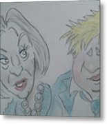 Teresa And Boris Metal Print