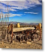Terlingua Ghost Town 2 Metal Print