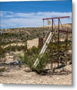 Terlingua Ghost Town #5 Metal Print