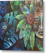 Terra Pacifica By Reina Cottier Nz Artist Metal Print