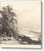 Terrace Of St. Cloud (terrasse De St. Cloud) Metal Print