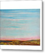 Terraced By Nature Metal Print