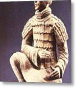 Terracotta Soldier Metal Print