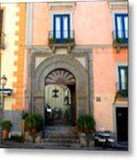 Terrazza Marziale Restaurant In Sorrento Metal Print