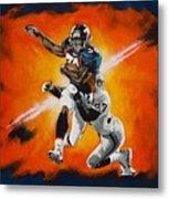 Terrell Davis II Metal Print by Don Medina