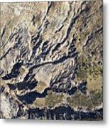 Terrible Erosion In The African Metal Print