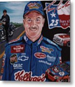 Terry Labonte Metal Print