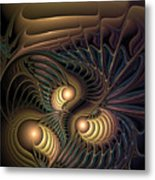 Tertiary Harmonics Metal Print