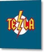 Tesla Bolt Metal Print
