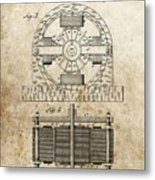 Tesla Magnetic Motor Patent Drawing By Dan Sproul