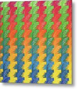 Tessellation Metal Print