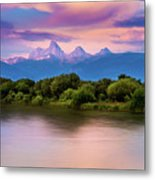 Teton Valley Paradise  Metal Print
