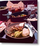 Tex-mex Good Eats Metal Print