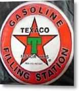 Texaco Sign Metal Print