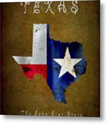 Texas ... The Lone Star State Metal Print