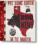 Texas Barbecue 4 Metal Print