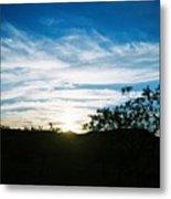 Texas Big Blue Sky Metal Print
