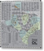 Texas - Birthplace Of The Modern Oil Industry Metal Print