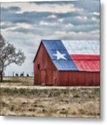 Texas Flag Barn #1 Metal Print