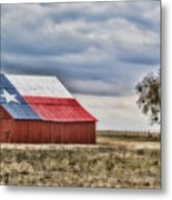 Texas Flag Barn #2 Metal Print