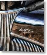 Texas - Ford Super Deluxe Metal Print