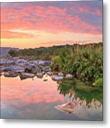 Texas Hill Country Morning Along The Pedernales 2 Metal Print
