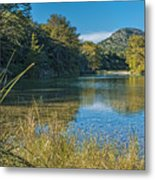 Texas Hill Country - The Frio River Metal Print