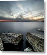 Texas Iceburgs @ Sunset Metal Print