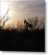 Texas Landscape Metal Print
