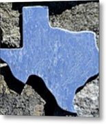 Texas Rocks Metal Print