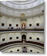 Texas State Capital  Metal Print
