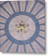 Texas State Capitol - Courtyard Floor Metal Print