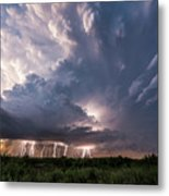 Texas Twilight Metal Print