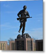 Texas War Memorial Metal Print