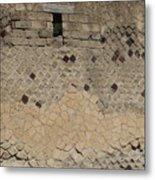 Textural Antiquities Herculaneum Wall One Metal Print