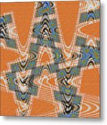 Textured Abstract # 2060ew4dt Metal Print
