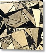 Textured Angles Metal Print