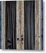 Textured Door Metal Print