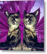 Tha 2piece Kitty Metal Print