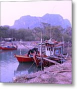Thai Fishing Boats 05 Metal Print