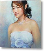 Thai Woman Metal Print