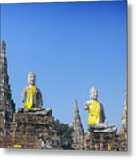 Thailand, Ayathaya Metal Print